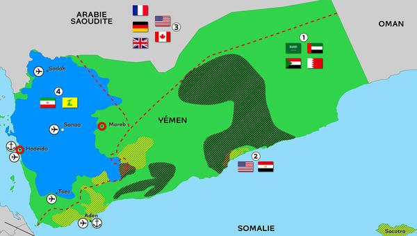 Yémen : face aux incursions étrangères, les rebelles houthis tiennent plusieurs lieux stratégiques - Sputnik France
