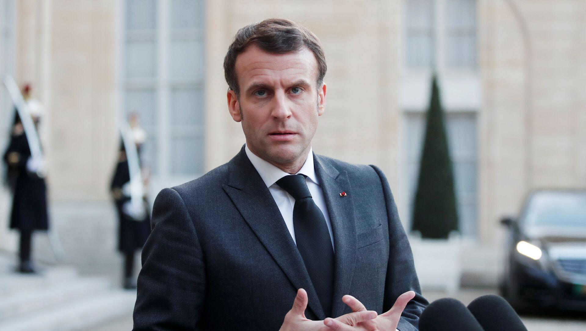 Emmanuel Macron  - Sputnik France, 1920, 13.08.2021