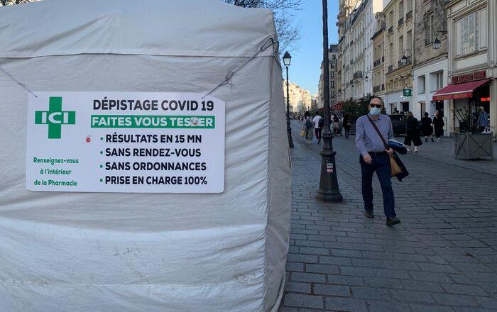 Centre de dépistage Covid-19, Paris