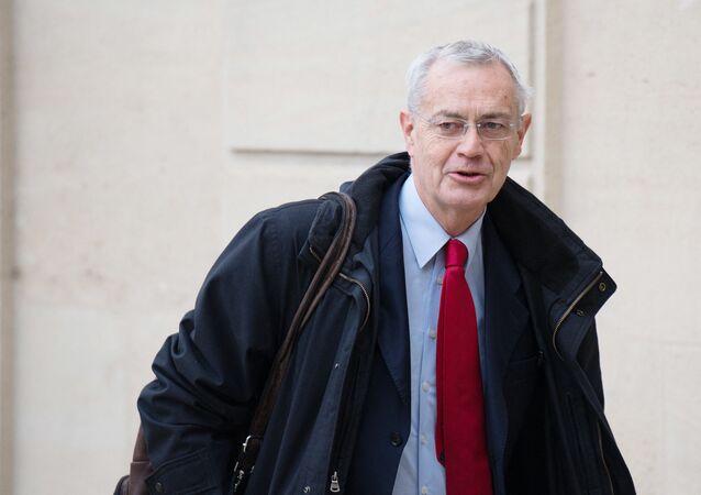 Le président de l'Observatoire de la laïcité, Jean-Louis Bianco
