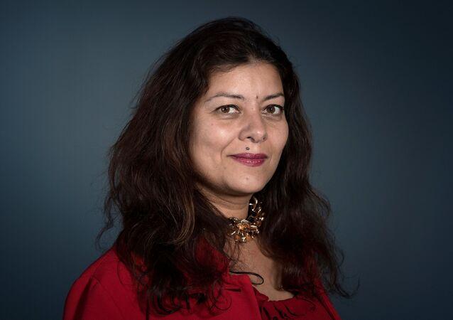 Sandra Muller, à l'origine du mouvement Balance Ton Porc