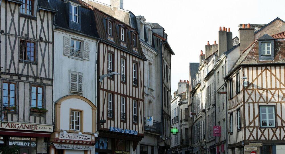 Le centre de Poitiers