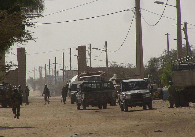 Un poste de contrôle au Mali (archive photo)