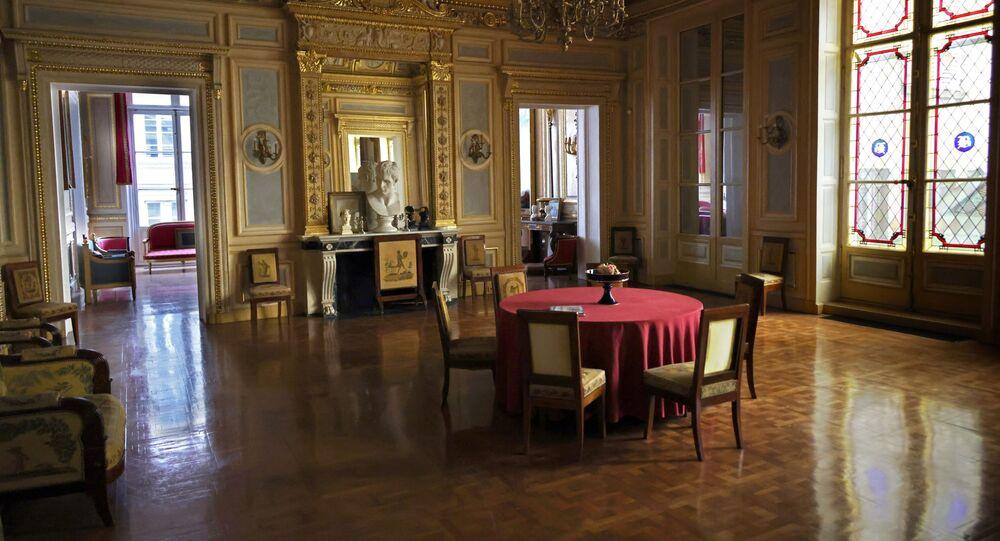 Les intérieurs du Palais Vivienne