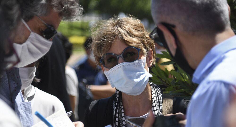 Agnès Callamard, la nouvelle secrétaire générale d'Amnesty International