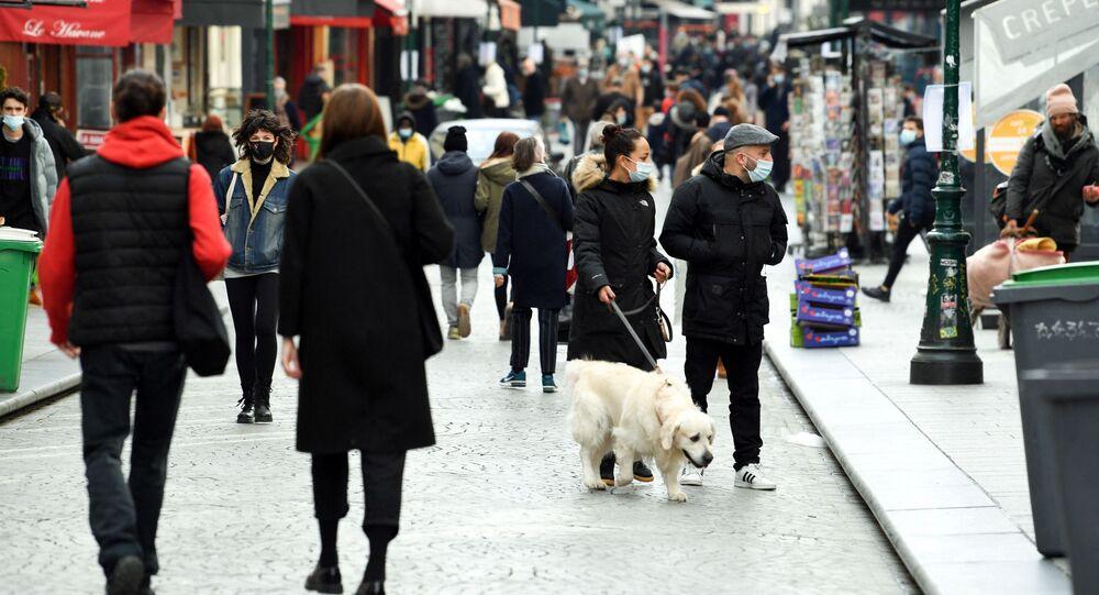 Une rue à Paris (photo d'archives)