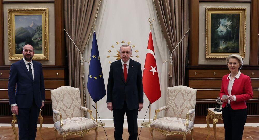 Erdogan rencontre Ursula von der Leyen et Charles Michel