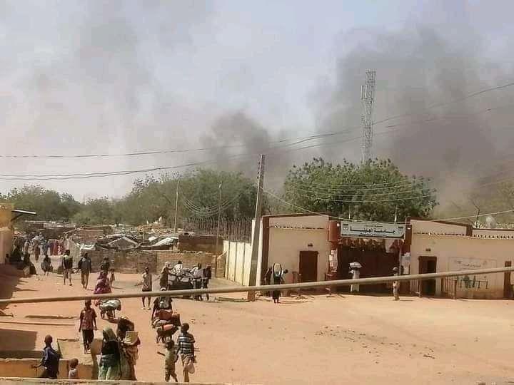 Darfour-Occidental, avril 2021.
