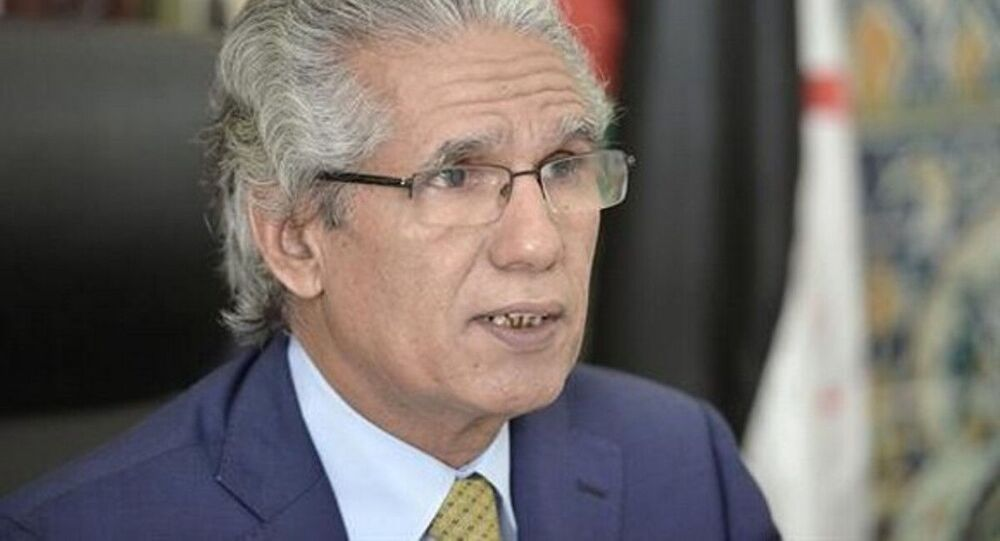 Mohamed Ould Salek, ministre des Affaires étrangères de la RASD