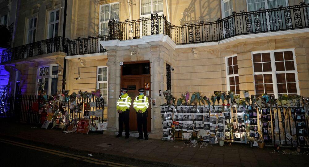 l'ambassade birmane à Londres