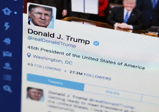 Compte twitter de Donald Trump (photo d'arcive)