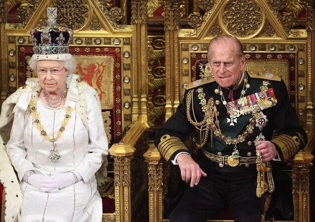 Le prince Philip et la reine Élisabeth II