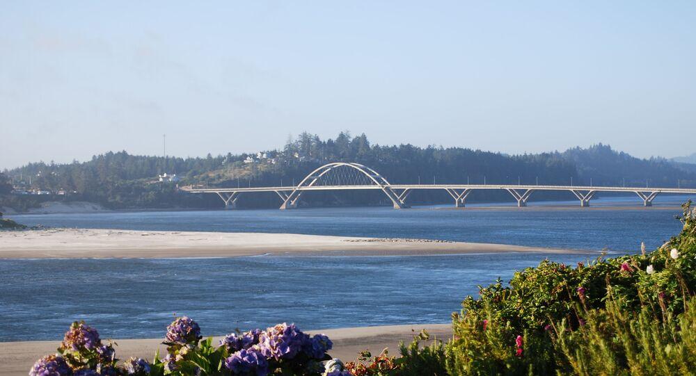 La baie d'Alsea dans l'Oregon
