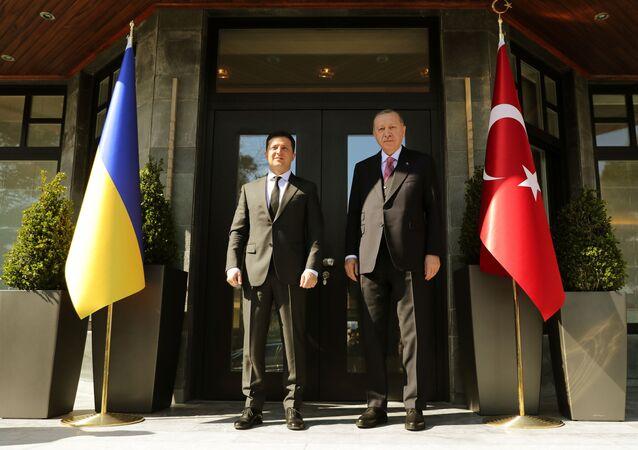 Recep Tayyip Erdoğan rencontre Volodymyr Zelenskiy à Istanbul