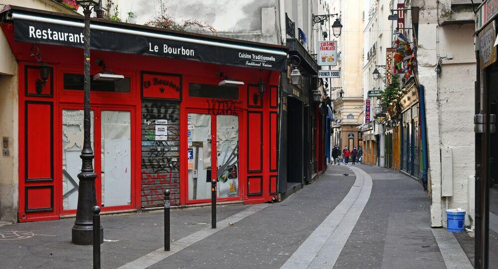 Restaurant fermé à Paris