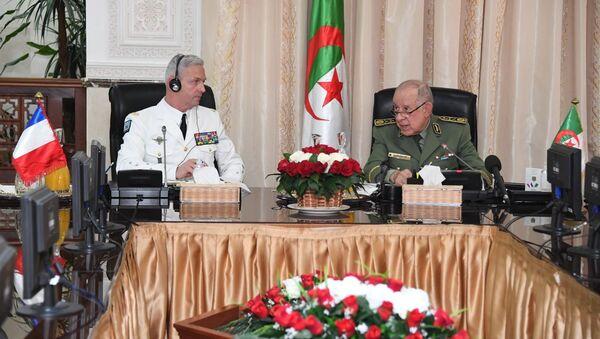 Réunion le 8 avril 2021, à Alger, des chefs d'état-major des armées française et algérienne  - Sputnik France