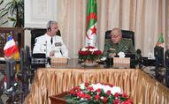 Réunion le 8 avril 2021, à Alger, des chefs d'état-major des armées française et algérienne