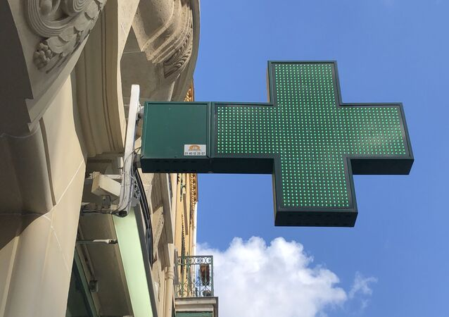 Une pharmacie française