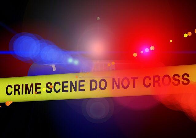 Ruban d'une scène de crime