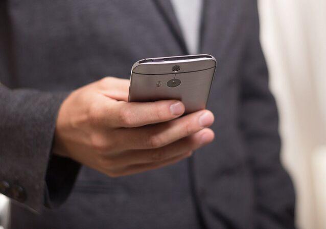 Un téléphone portable
