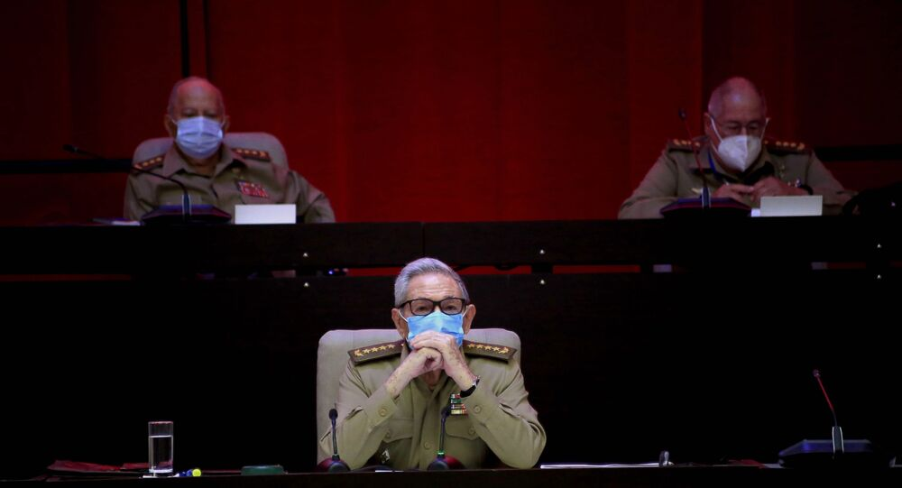 Raul Castro, le 16 avril 2021