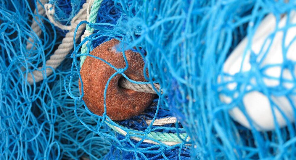 Filet de pêche