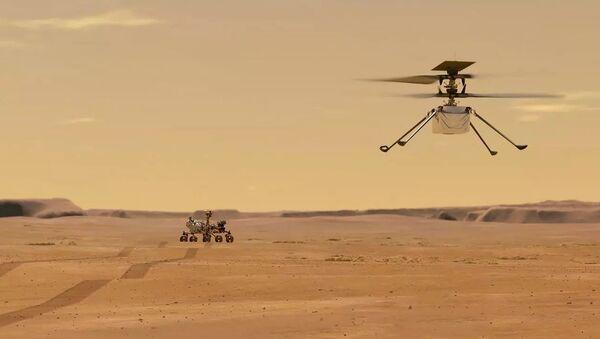 Mars Helicopter Ingenuity - Sputnik France