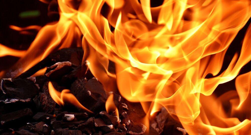 Le feu (image d'illustration)