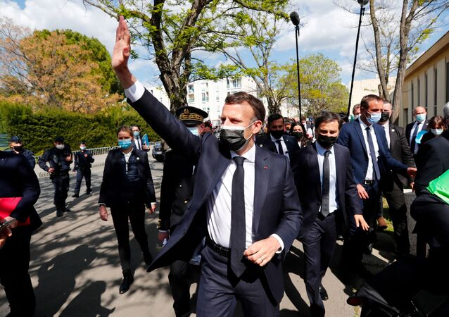 Emmanuel Macron à Montpellier