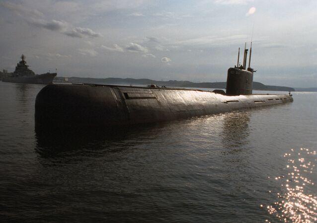 Un sous-marin de la Flotte du Nord russe (archive photo)
