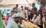 La campagne de vaccination au Cameroun