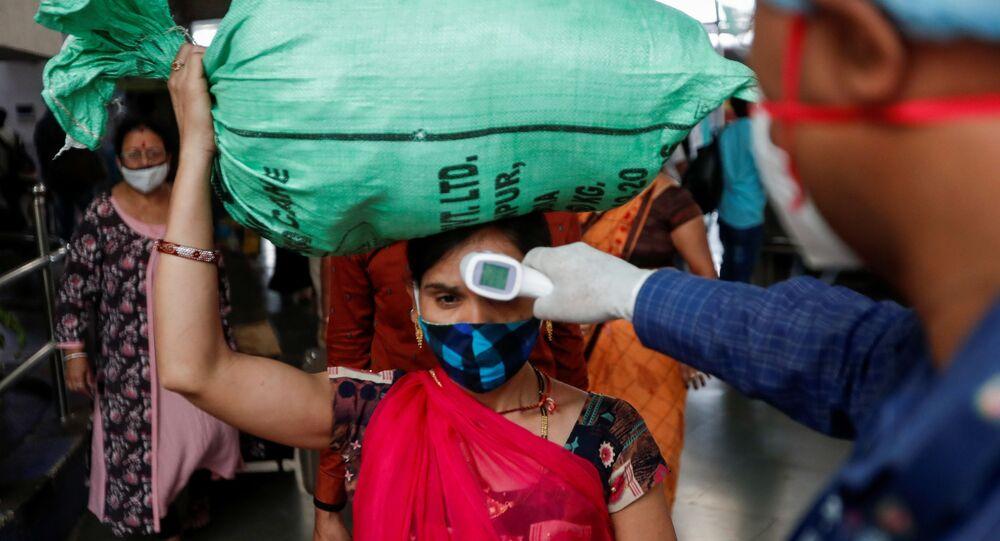 Bombay lors de la pandémie, le 17 mars 2021