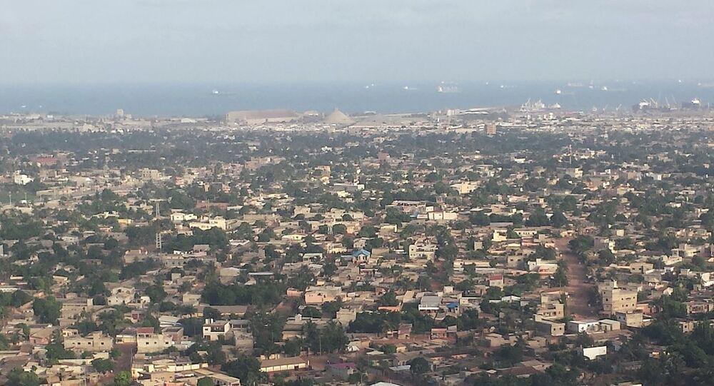 Vue aérienne de Lomé