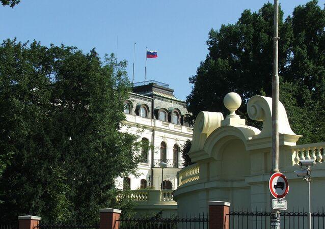 Ambassade de Russie à Prague (archive photo)