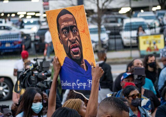 Atlanta après l'annonce du verdict pour Derek Chauvin