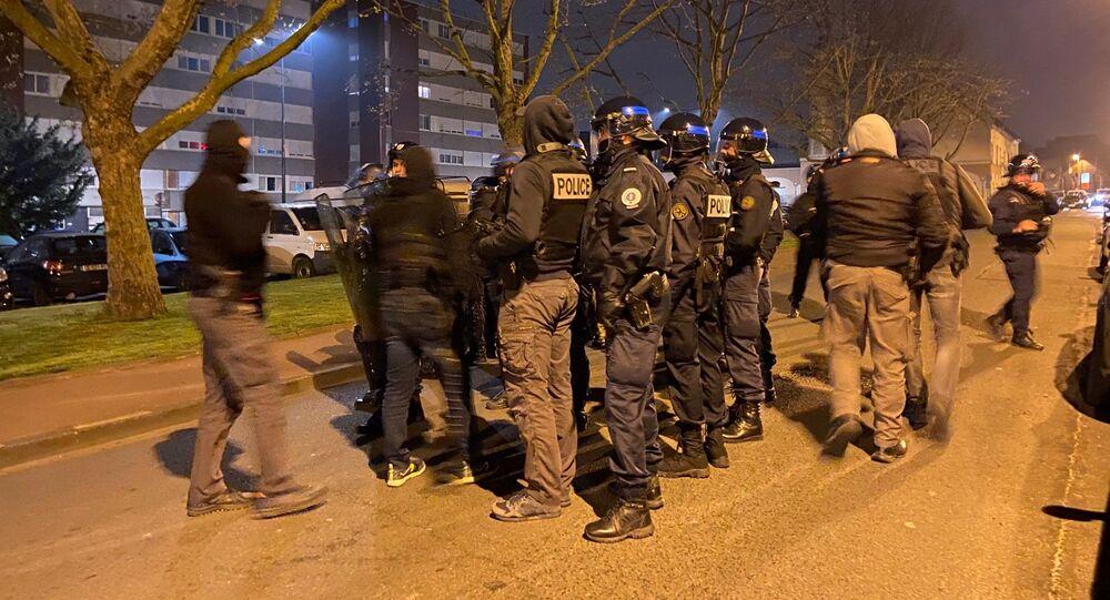 Quatrième nuit de tensions à Tourcoing, le 20 avril 2021