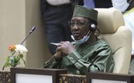 Feu le Président tchadien Idriss Déby Itno