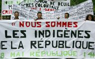 Une manifestation des Indigènes de la République, en mai 2005 à Paris