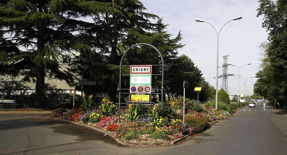 La ville de Grigny