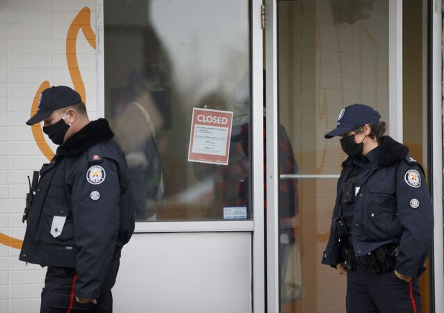 Des agents de police de Toronto