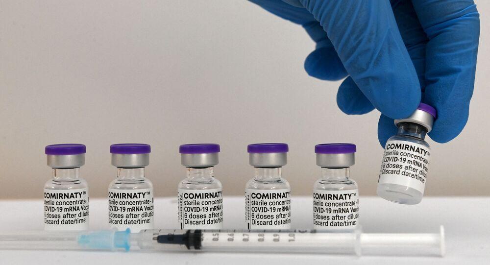 Doses de vaccin Pfizer BioNTech