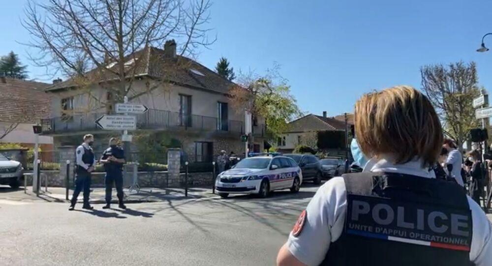 Situation au commissariat de Rambouillet après l'attaque au couteau, 23 avril 2021