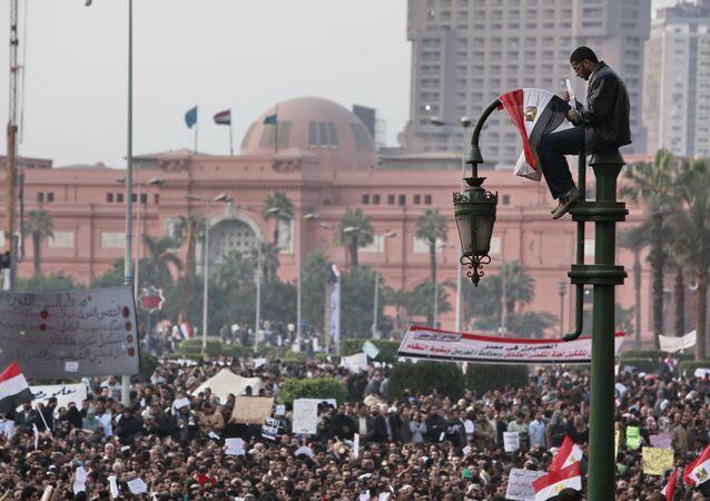 Protestations en Égypte, 2011