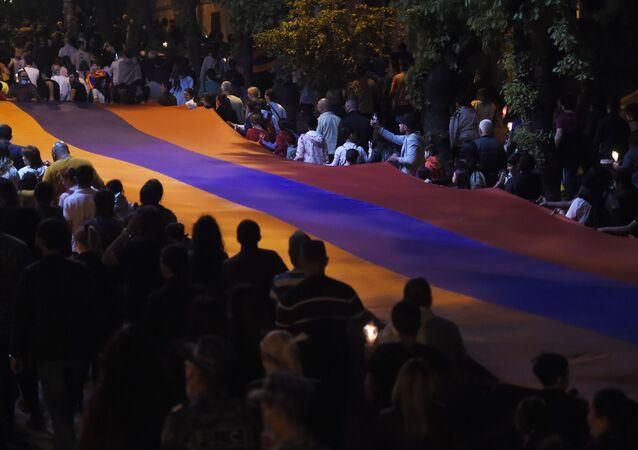 Commémoration des victimes du génocide du peuple arménien