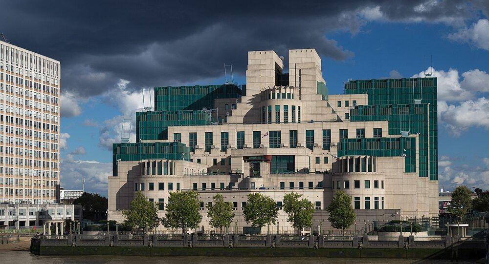 Le siège du MI6 à Londres