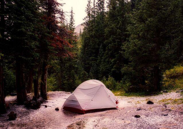 Une tente (image d'illustration)