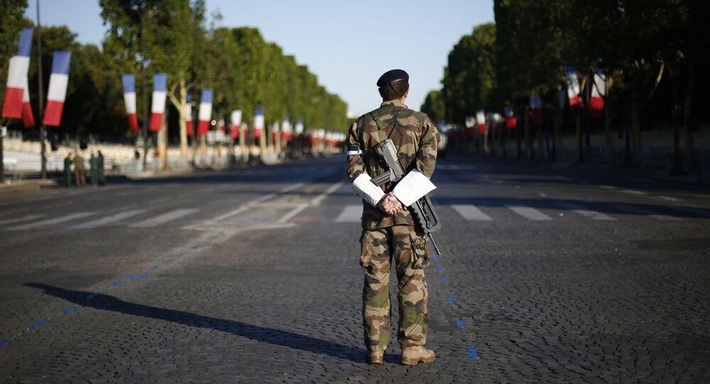 Un militaire français