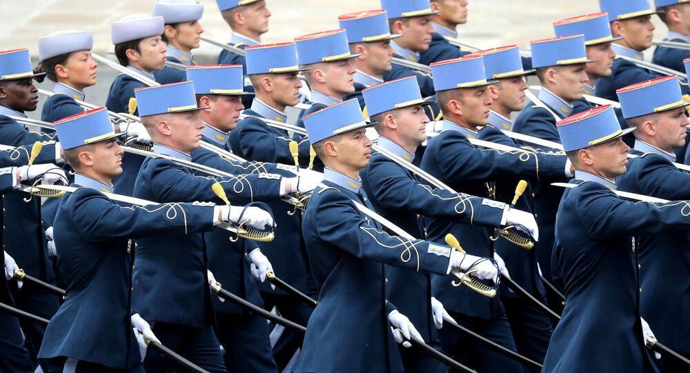 Un défilé militaire à Paris (archive photo)