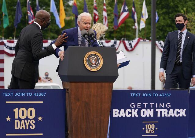 Joe Biden, le 29 avril 2021