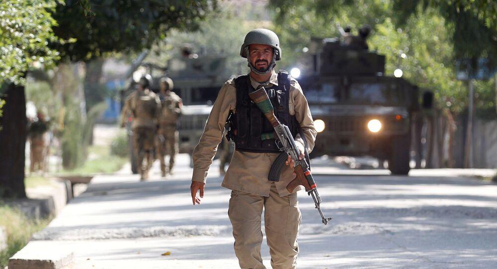 Un officier des forces sécuritaires afghanes (image d'archive)